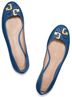 cute Tory Burch flats .. WANT!