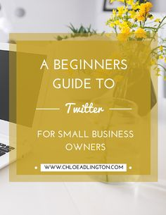 A beginners guide to Twitter, including how to set up your profile for success, what to tweet and how to increase your Twitter followers - www.chloeadlington.com
