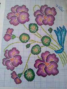 Cross Stitch Embroidery, Embroidery Patterns, Cross Stitch Patterns, Cross Stitch Love, Cross Stitch Flowers, Diy Crafts Hacks, Crochet, Tapestry, Embroidered Cushions