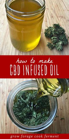 CBD oil is a healing topical home remedy with many all natural and medicinal uses! Learn how to make cannabis CBD infused oil at home with this easy recipe for beginning herbalists. CBD oil has many benefits and medicinal uses, the most popular being for Cold Home Remedies, Natural Health Remedies, Natural Cures, Natural Healing, Herbal Remedies, Natural Oil, Natural Treatments, Natural Foods, Holistic Healing