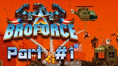 A couple guys Bro-Out, and cause mayhem, in this Indie Action game by Devolver Digital! One of us is a seasoned Pro, another a well-accustomed Broforce player, and another a complete Noob. I'll let you figure out who is who!