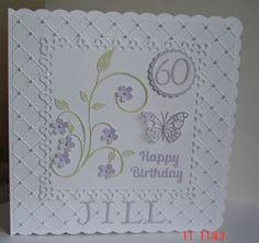 60th birthday card by: StowmarketLesley