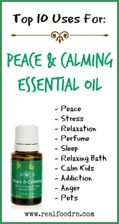 Young Living Essential Oils: Everyday Oils Essential Collection Peace and Calming