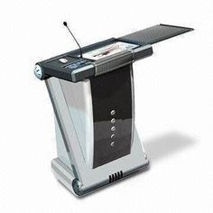 Presentation Equipment with 19-inch LCD Tablet Monitor and Adjustable Viewing Angle