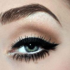 My choice for eyeliner...love the thick bold line