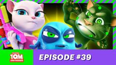 Talking Tom and Friends - Germinator 2: Zombies ( Episode 39 )