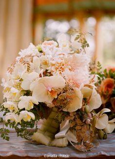 Beautiful floral arrangement by Ariella Chezar.