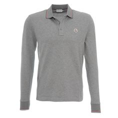 Moncler Poloshirt Grau