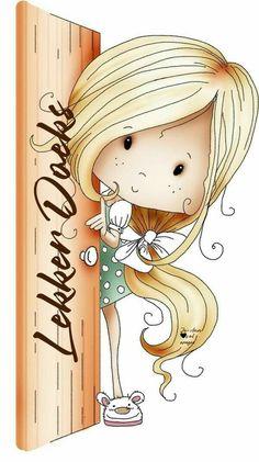 Cute Images, Cute Pictures, Cute Cartoon Wallpapers, Digi Stamps, Illustrations, Cute Illustration, Cute Drawings, Cute Art, Art Girl