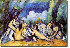 The Bathers by Paul Cezanne. This particular series greatly influenced Henri Matisse. Both Matisse and Cezanne have influenced much of my artwork. Aix En Provence, Henri Matisse, Paul Cezanne Paintings, Cezanne Art, National Gallery, Impressionist Paintings, Art Uk, French Artists, Your Paintings