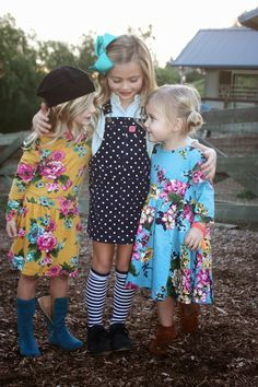 Joules for kids! wish they still had these dresses on their site!