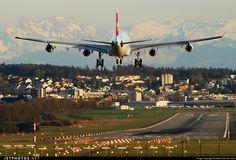 Arriving to the beatiful Zurich-Kloten Airport.