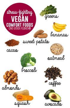 Healthy Vegan Comfort Foods to Eat When You're Stressed http://onegr.pl/1nb4vnR #vegan #plantstrong #plantpowered
