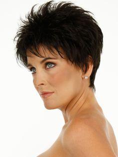 Midnight Brown Short Haircuts For Fine Hair