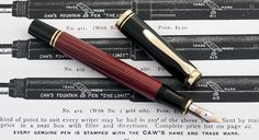 Pelikan M400 Red Striped :