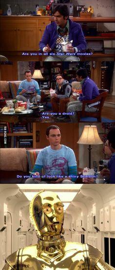 Look like a shiny Sheldon?