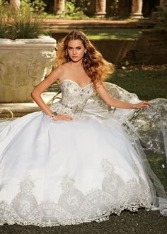 Eve of Milady couture wedding gowns @ Catan Fashions | Strongsville OH| Largest bridal salon in America | Find the dress of your dreams| www.catanfashions.com  #CatanBride