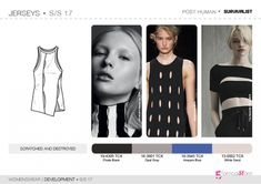 See the new forecasting fashion trends about Bourgeoise, Flamboyant, Impression, Survivalist SS17   Womenswear  Development   Jersey, Fashion & Product development ai CAD with 5forecastore.