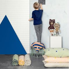Ferm Living Kids Teepee Quilted Blanket