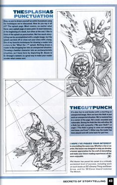 Rat Creature's Journal - scans from that Wizard How To Draw: Storytelling book