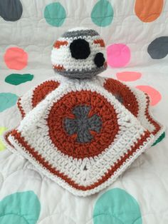 BB-8 Crochet Lovey - perfect for the Star Wars loving baby