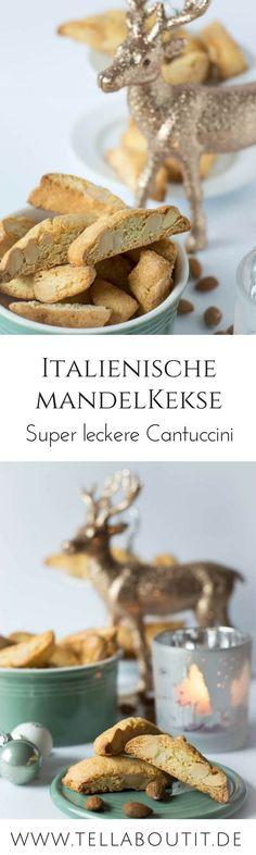Italienisches Mandelgebäck - Cantuccini mit Mandeln - perfekt für die Vorweihnachtszeit
