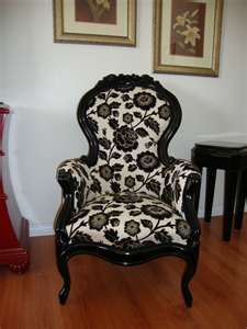 ... Victorian chair was brought back to life by KFS Fine Furniture