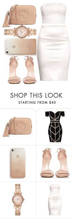 """"""" I want you stay ..... """" by glitterymula ❤ liked on Polyvore featuring Gucci, Command, Rebecca Minkoff, Stuart Weitzman and Michael Kors"""