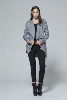 Shop luxury women's designer clothes new season collection from renowned NZ fashion designer at taylor boutique online, worldwide delivery. Spring Summer 2015, Online Boutiques, Get Dressed, Charcoal, Two By Two, Bomber Jacket, Normcore, Silhouette, Clothes For Women
