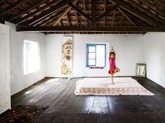 ideas for my new yoga room
