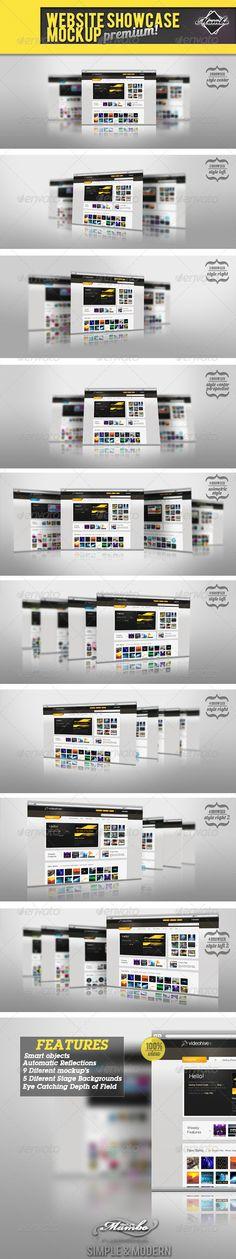 Website Showcase Mockup Download here: https://graphicriver.net/item/website-showcase-mockup-/237796?ref=KlitVogli