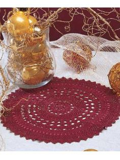 Crochet - Other - Christmas Shells Doily