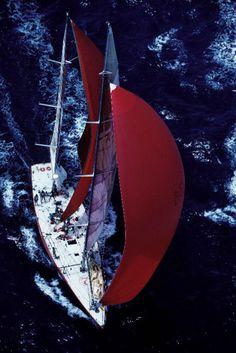 Sailing! I love sailing! Sailing makes me happy!