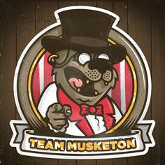 I want you to join Team Musketon