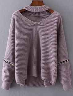 SHARE & Get it FREE | Cut Out Chunky Choker SweaterFor Fashion Lovers only:80,000+ Items • New Arrivals Daily Join Zaful: Get YOUR $50 NOW!