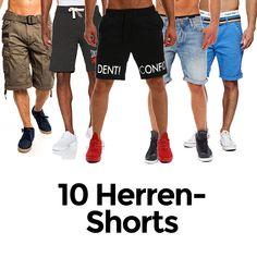 10 coole Herren-Style mit Shorts und kurzen Hosen