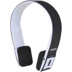 Sylvania Bluetooth Headphones With Microphone (black)