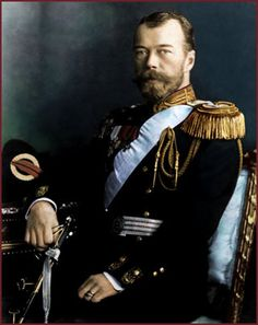 Czar Nicholas II, last Czar of Russia.  Fate put him on the throne of Russia when all he really wanted to be was a good Christian, a good husband, and a good father.