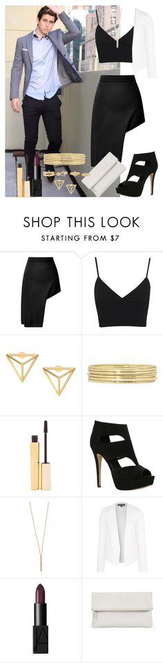 """""""First date with Nash"""" by diirectiioner69 ❤ liked on Polyvore featuring Opening Ceremony, Miss Selfridge, Liz Claiborne, Stila, ALDO, Shashi, Topshop, NARS Cosmetics, Whistles and Charlotte Russe"""