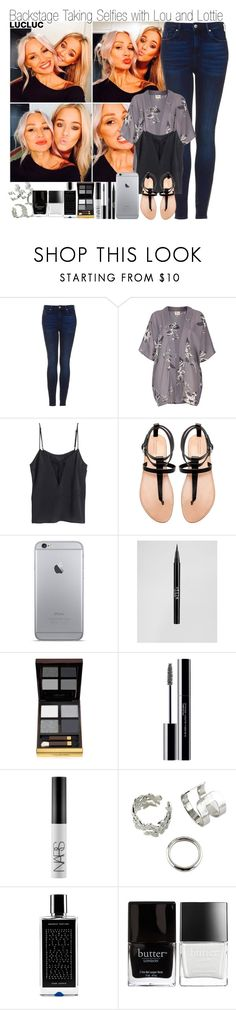 """""""Backstage Taking Selfies with Lou and Lottie"""" by elise-22 ❤ liked on Polyvore featuring Topshop, Annie Greenabelle, Zara, Stila, Tom Ford, shu uemura, NARS Cosmetics, Agonist, Butter London and louteasdale"""