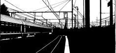 Détail d'une illustration de Frédéric Pajak, dans «Manifeste incertain 3»