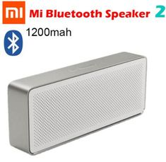 Humorous Original Xiaomi Bluetooth Speaker Bluetooth Column Square Box 2 Basic 2 Wireless Portable Speaker Stereo Ii 4.2 Hands-free Aux Portable Speakers