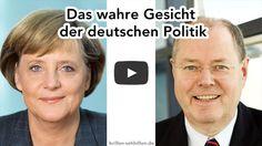 Das wahre Gesicht der deutschen Politik (lustiges Sehphänomen)