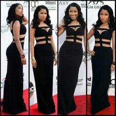 Nicki minaj black sexy dress....mWaHhH