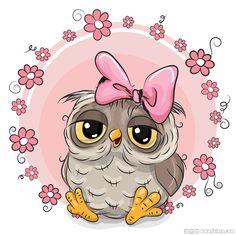vector cute owl, Cute Owl, Cartoon Owl, Vector Owl PNG and Vector Environmental Crafts, Cartoon Mignon, Cute Owl Cartoon, Owl Vector, Vector Clipart, Pink Owl, Pastel Pink, Owl Art