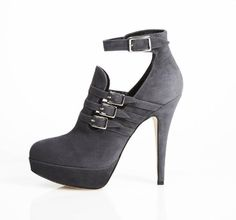 Grey suede shoes by Canadian designer Abel Munoz #footwear #fashion #style