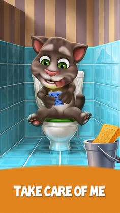My Talking Tom- screenshot Mini Games, Games To Play, Ipod Touch, Tom Games, Contextual Advertising, My Talking Tom, Bubble Shooter, Virtual Pet, Ipad