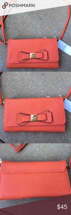 Jessica Simpson crossbody bag Brand new with tag . Had a zipper pocket inside and lots of credit card slots . Jessica Simpson Bags Crossbody Bags