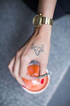 25 Best Taurus Tattoo Ideas & Bull Tattoos For Taurus Zodiac Signs