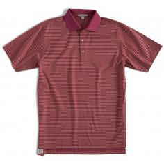 Andrews Stripe Mercerized Cotton Polo - Golf Shirts - Clothing - Men    Peter Millar Golf 562899fa76